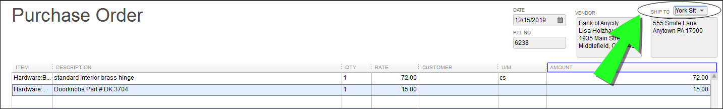 Purchase Orders with the Plugin